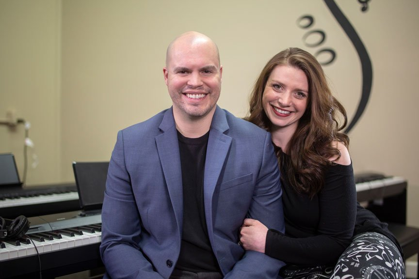 Chelsea and Paul Melcher of Red School of Music